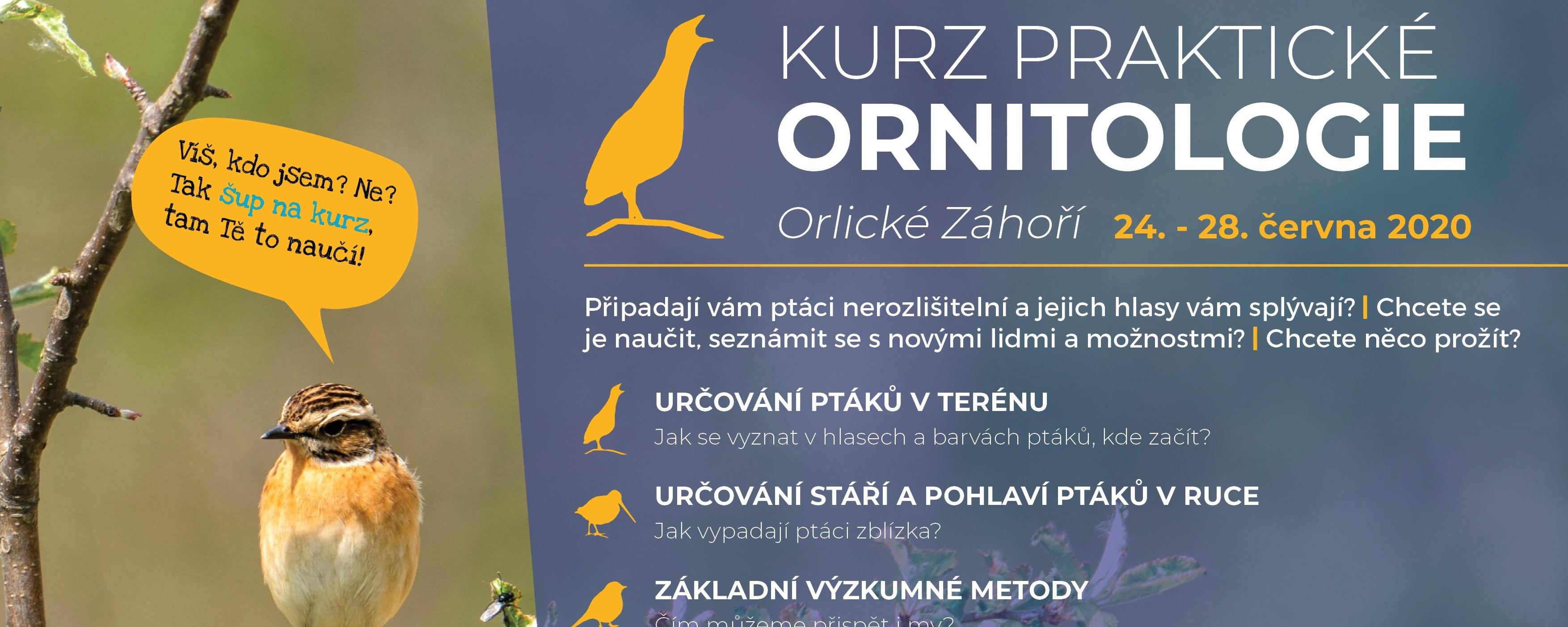 Kurz praktické ornitologie